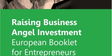 Cover - Raising Business Angel Investment - European Booklet for Entrepreneurs
