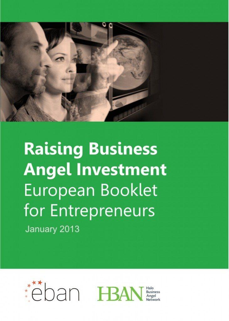 Cover - Raising Business Angel Investment - European Booklet for Entrepreneurs