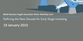 Defining the New Decade for Early Stage Investing