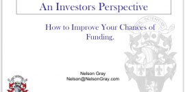 Investor Ready An Investors Perspective: How to Improve Your Chances of Funding